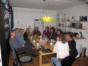Besök på Kvinnokooperativ